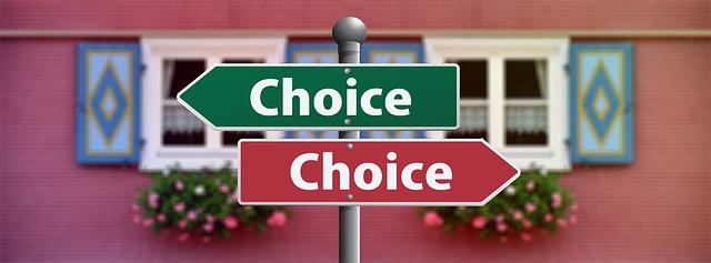 tomar las decisiones correctas