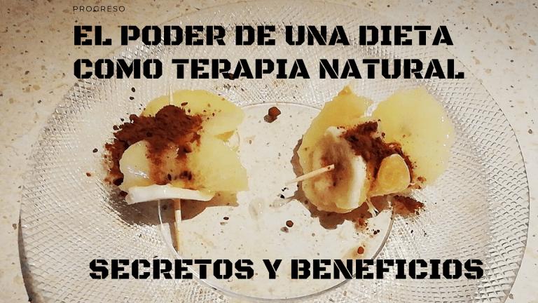 La DIETA como TERAPIA NATURAL: SECRETOS y beneficios