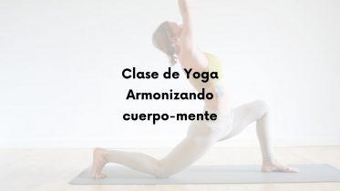 clase de yoga para armonia de cuerpo mente