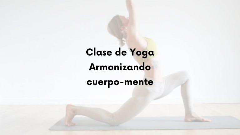 Clase de Yoga inicial con respiración intercostal
